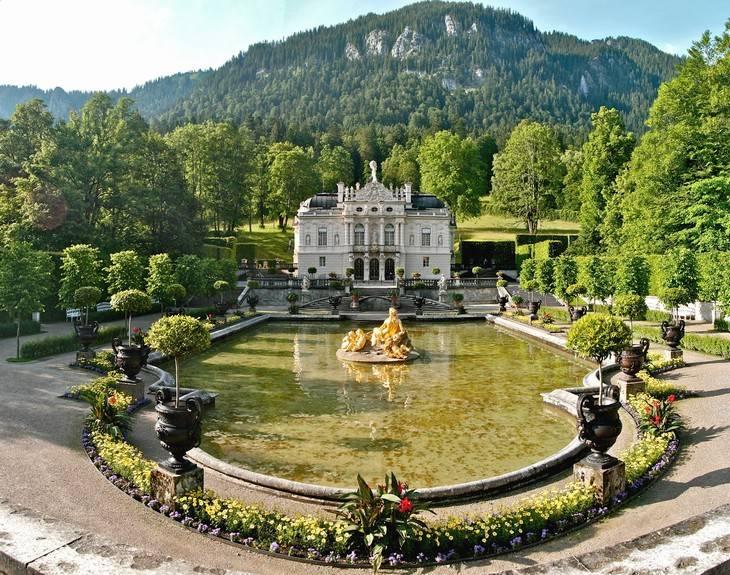 Топ 10 - замки баварии и экскурсии по ним