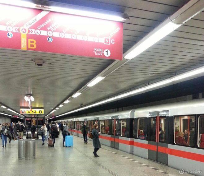 Как пользоваться схемой метро в праге и сколько стоит проезд?