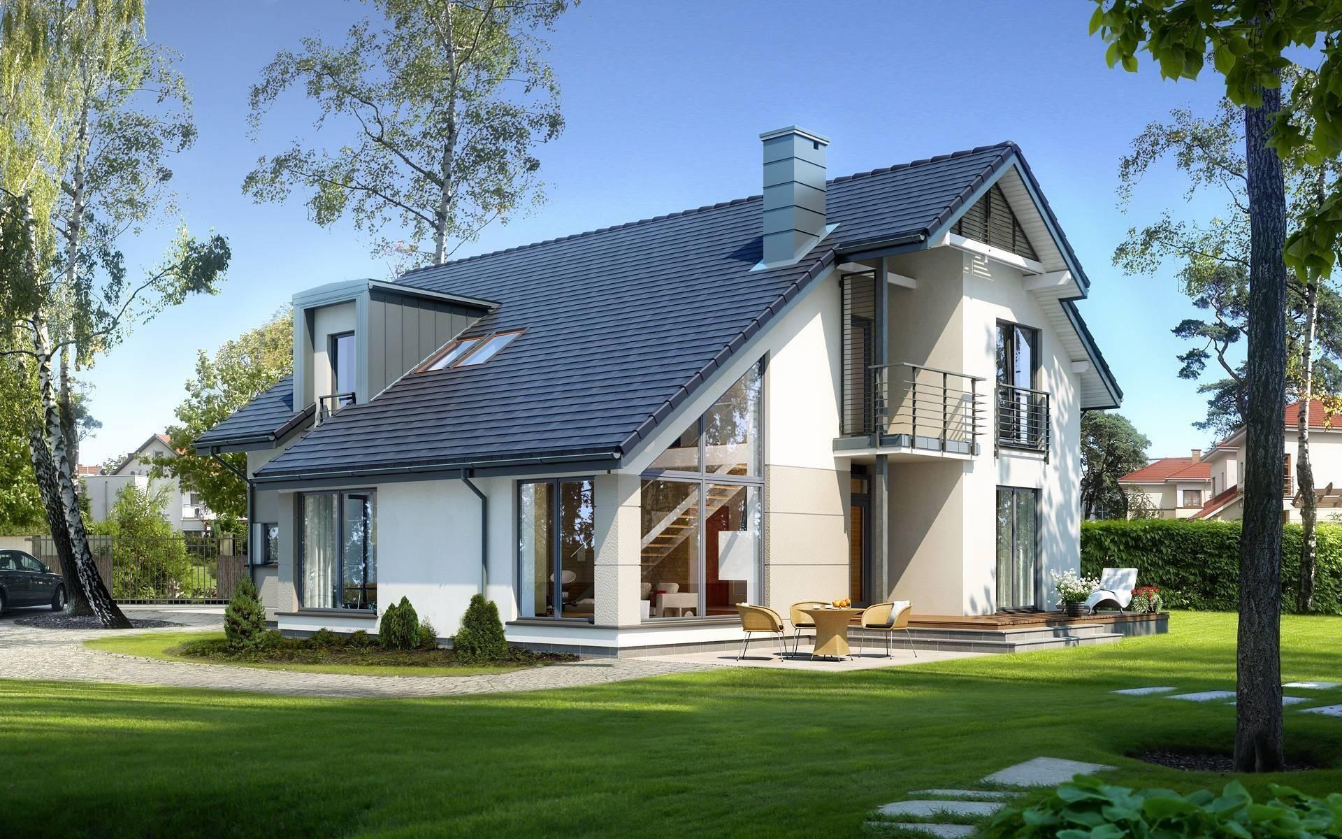 Польские проекты компактных домов на узких участках. история польского частного домостроения и характерные черты польских домов