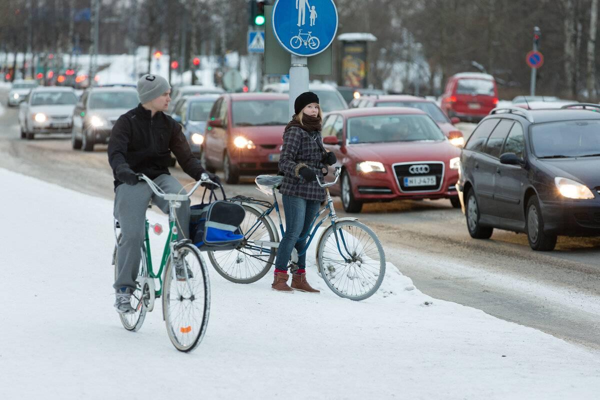 Значение велосипедов для жителей финляндии