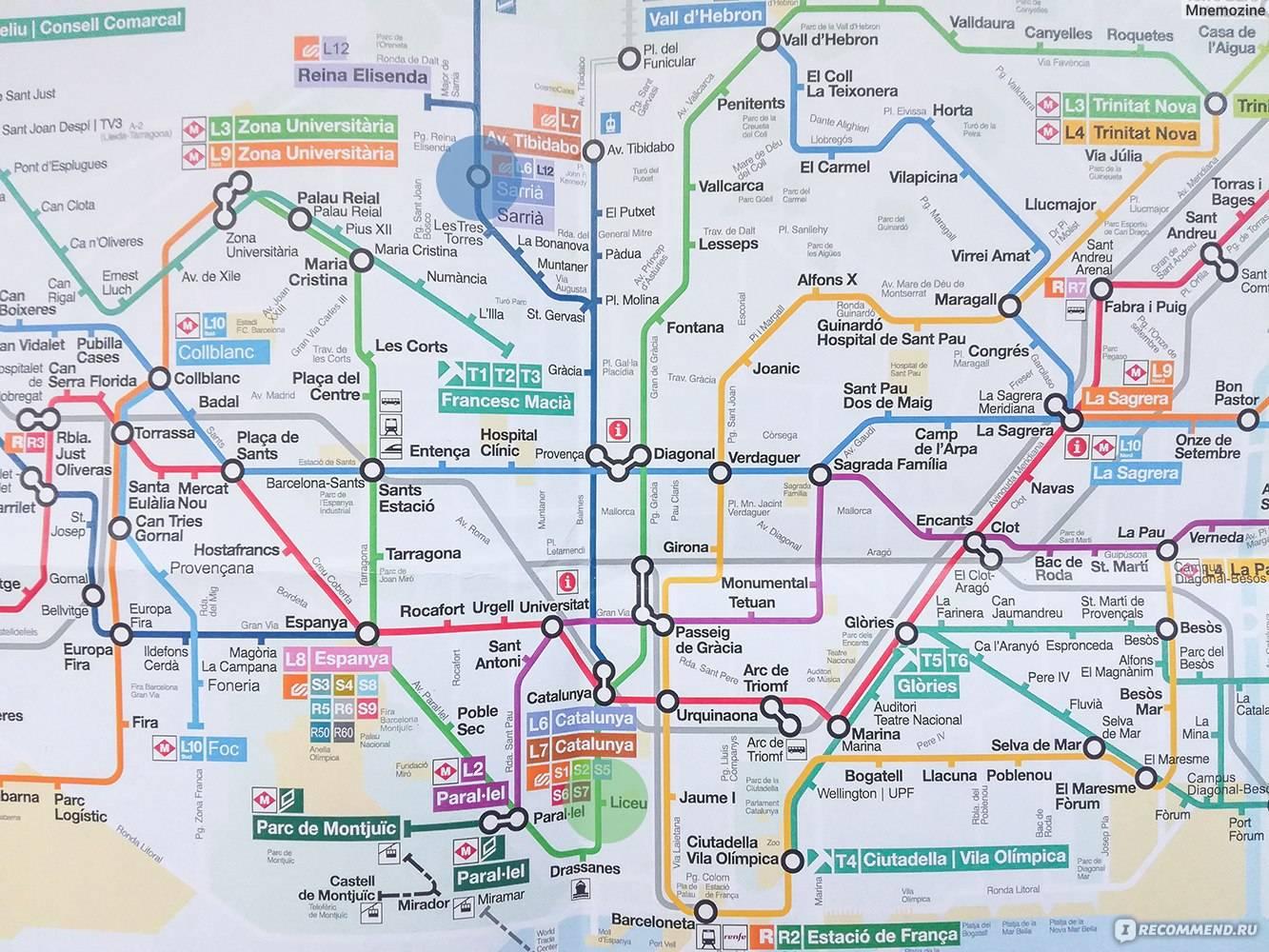 Как пользоваться метро в барселоне?