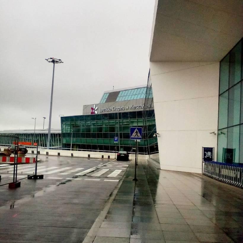 Международный аэропорт варшавы «фредерик шопен»