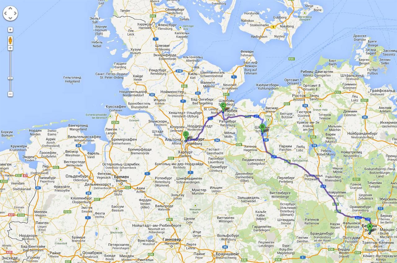 Путешествие по германии: как добраться из берлина в гамбург