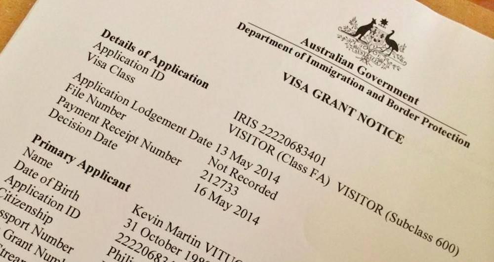 Виза в австралию: самостоятельно её можно сделать, но документы нужно подавать за 1-2 месяца