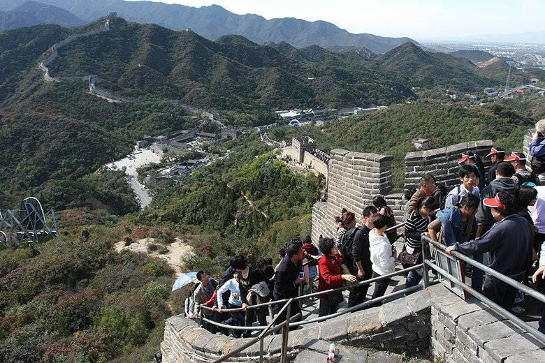 Самостоятельная экскурсия на великую китайскую стену