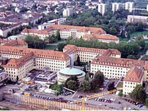 Офтальмологическая (глазная) клиника университета г. фрайсбурга (германия)