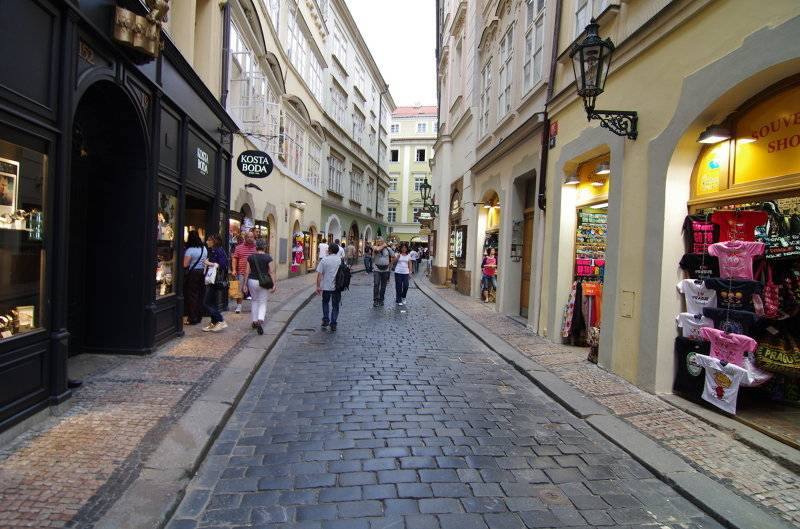 Торговый центр palladium в праге— шопинг на площади республики