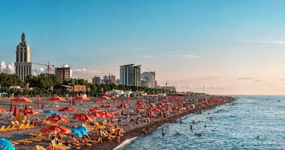 Курорты в грузии: какое море, пляжи и лечебный отдых для всей семьи