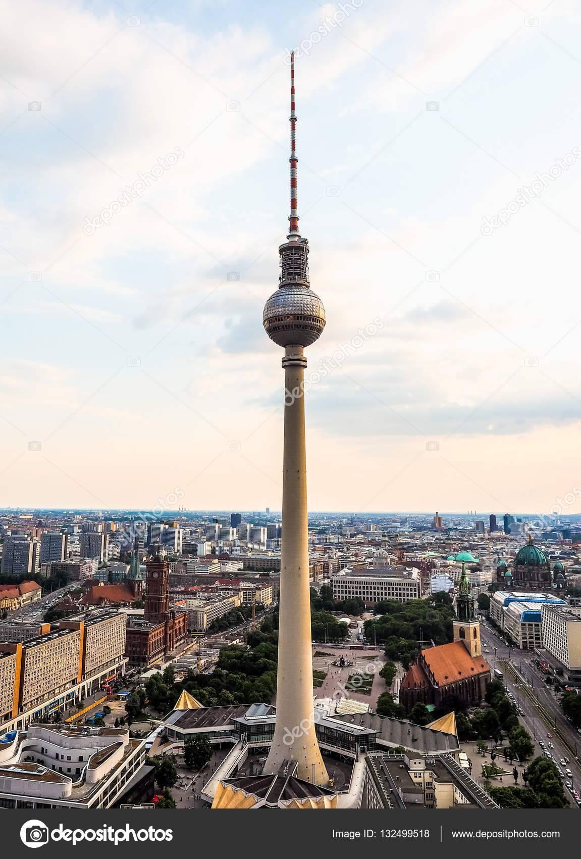 Берлинская телебашня — википедия