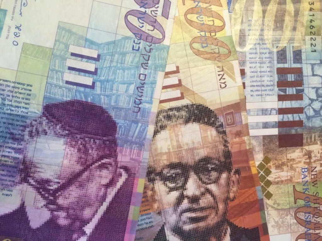 Курс доллара к израильскому шекелю