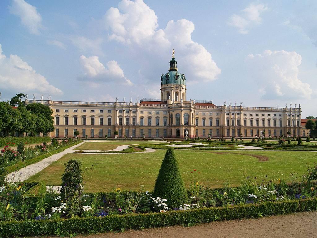 Достопримечательности германии: замок шарлоттенбург в берлине