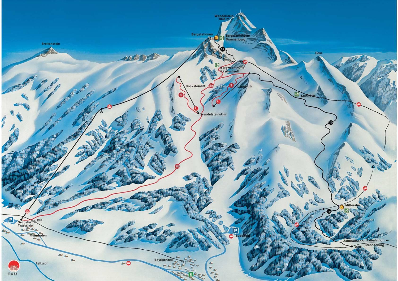 Гармиш-партенкирхен: самый популярный горнолыжный курорт германии