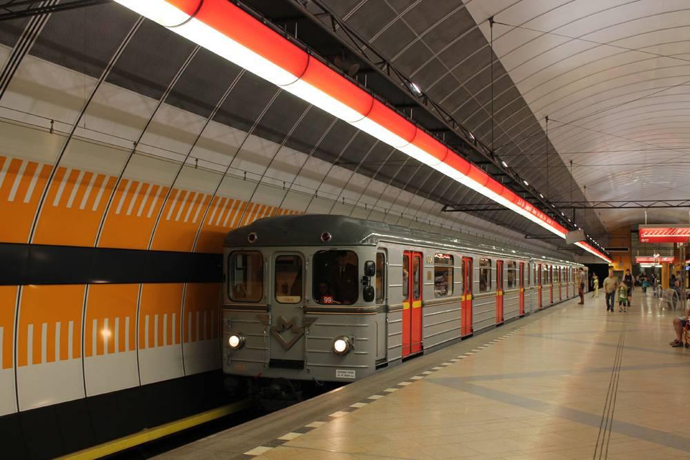 Пражский метрополитен — энциклопедия нашего транспорта