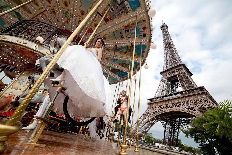 Свадьба в стиле «париж», советы по проведению с фото