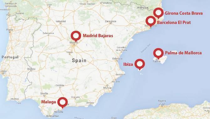 Барселона – жирона, как добраться (аэропорты, центры городов)