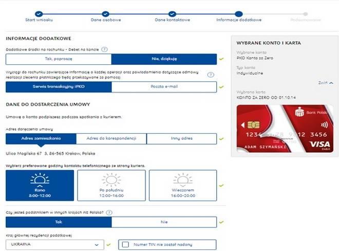 Открытие счета в банке и получение платежной карты в польше для иностранцев