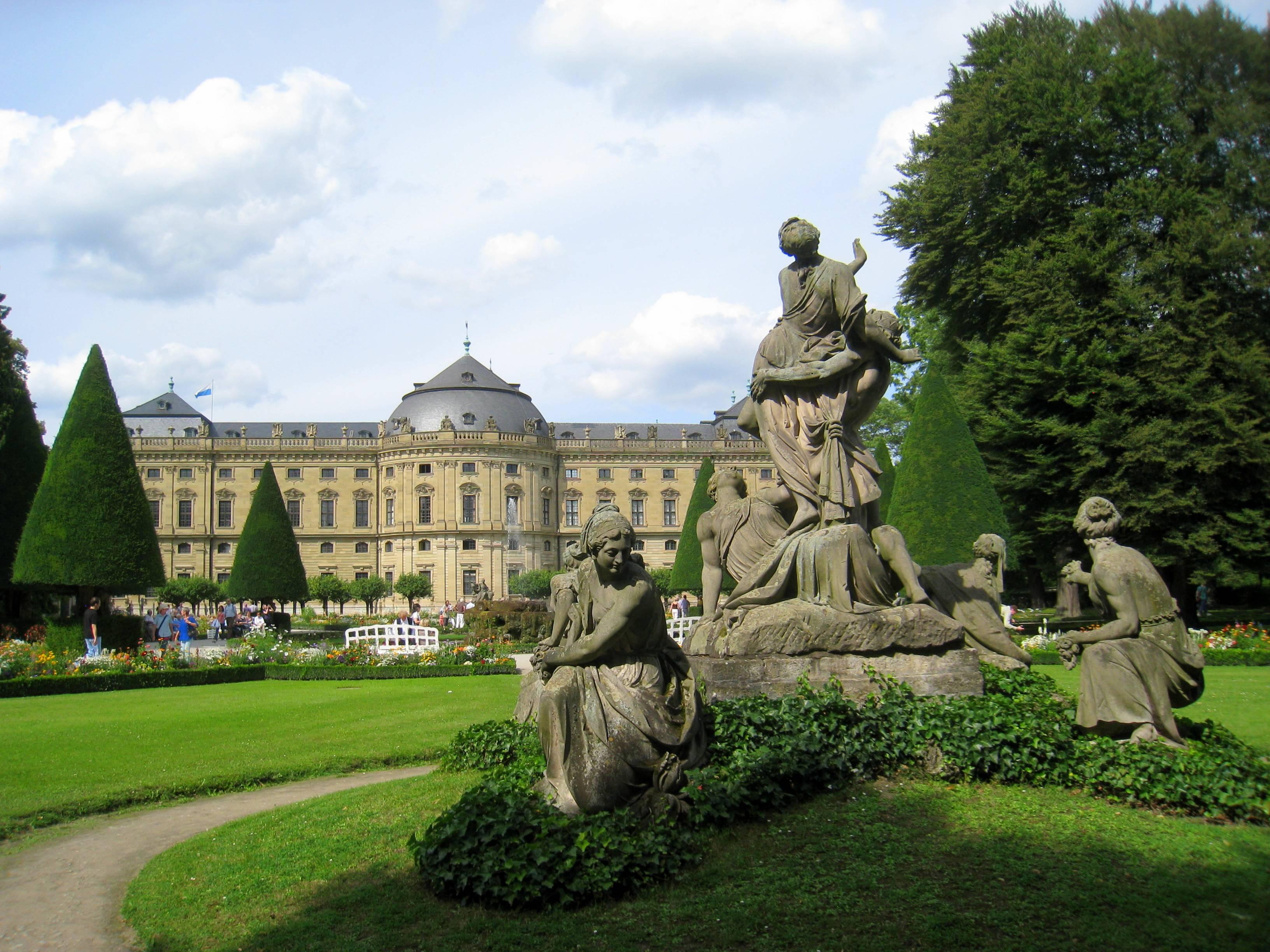 Вюрцбург в германии: описание достопримечательностей