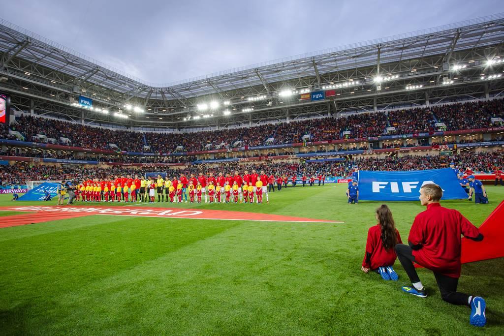 Самые знаменитые футбольные стадионы