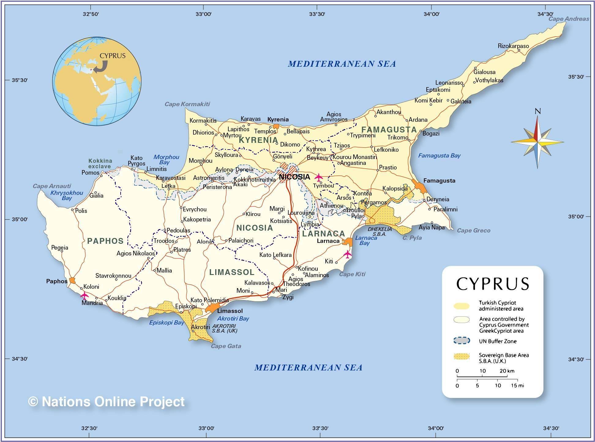 Что это за страна кипр?