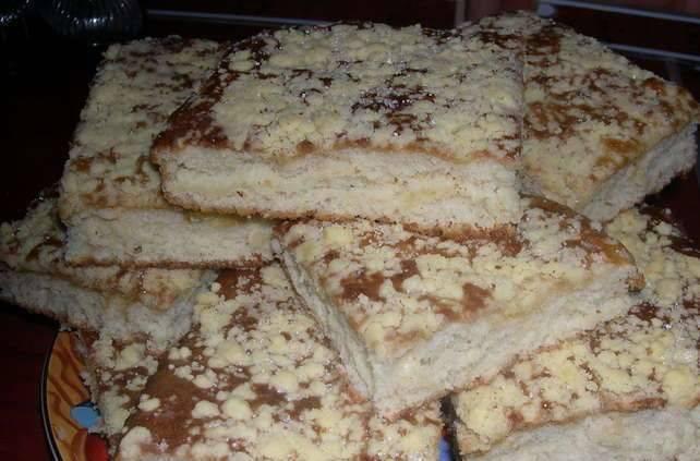 Кухен немецкий пирог шоколадный