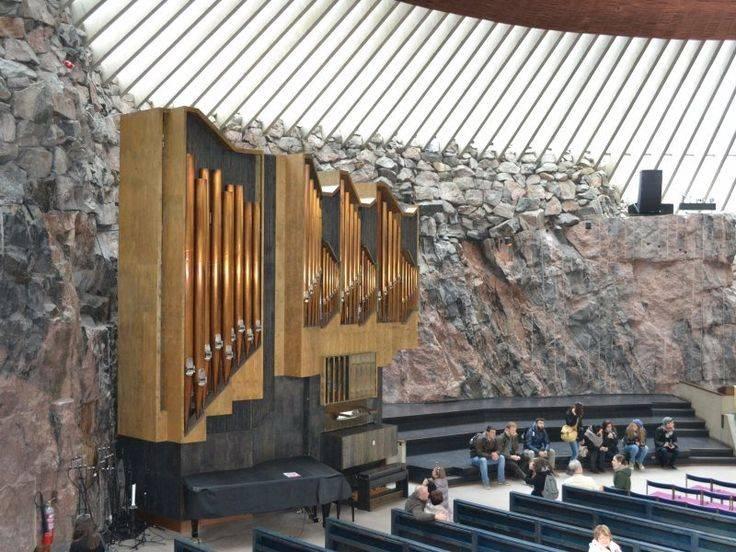Церковь в скале (темппелиаукио) в хельсинки
