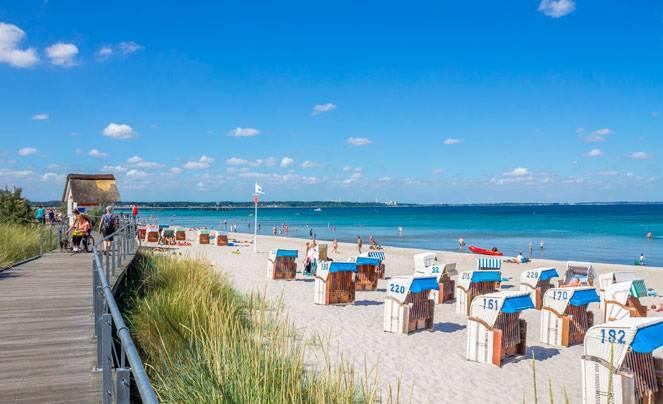 Отдых на море: дания, германия, польша. 5 белых пляжей европы. на море пляж германия море