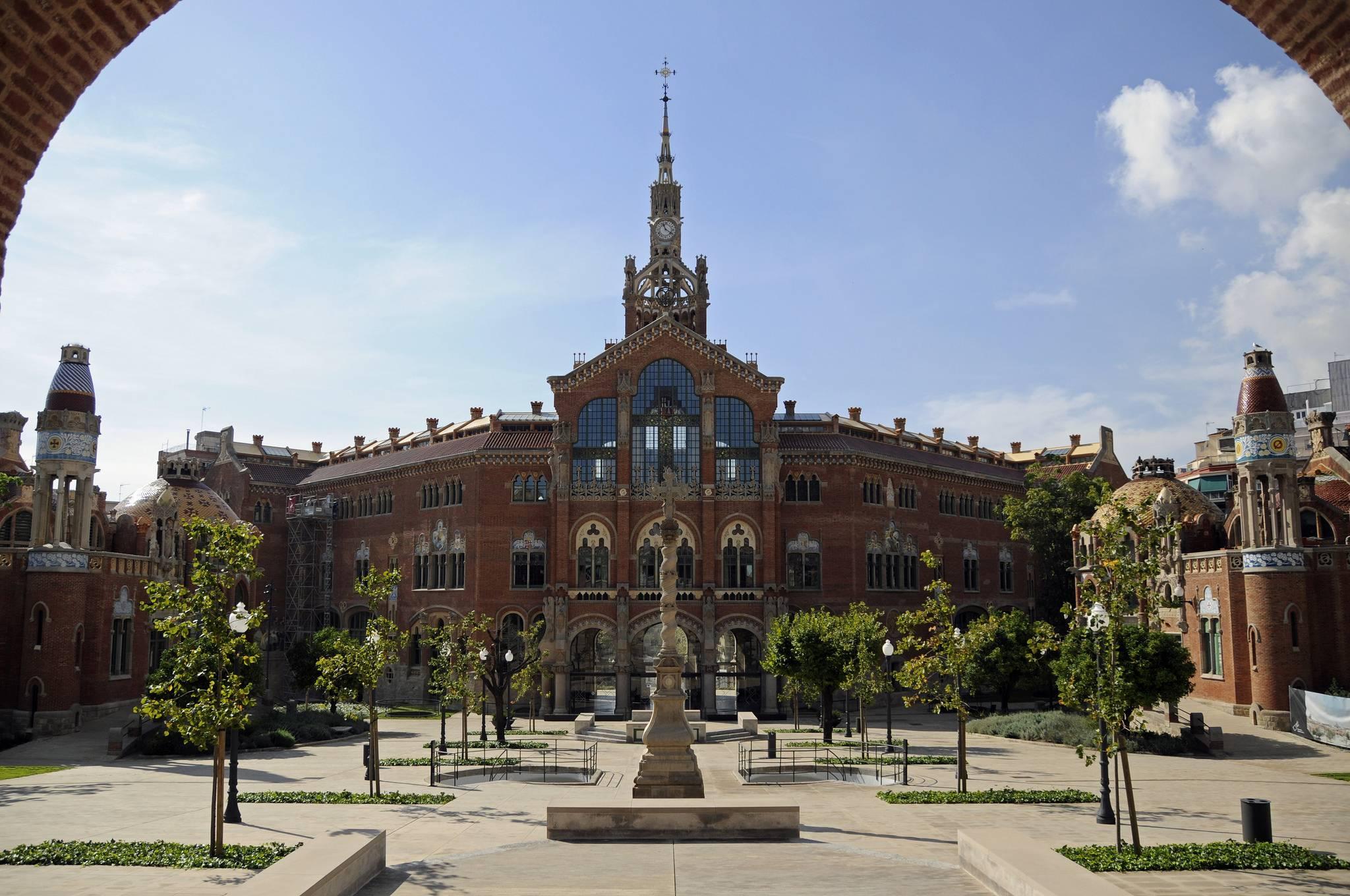 Госпиталь сан-пау – уникальный архитектурный комплекс