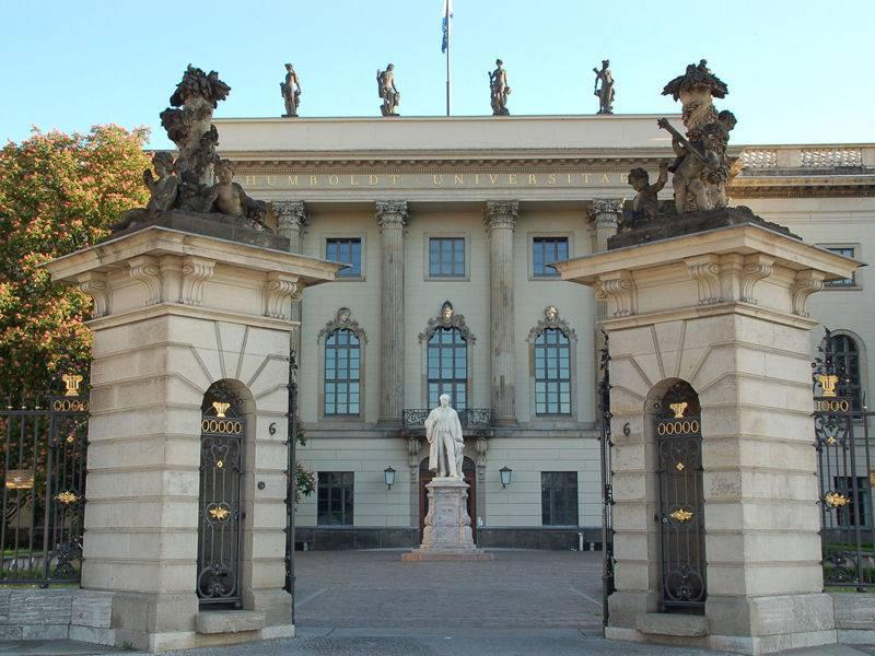 Берлинский университет им. гумбольдта | humboldt-universität zu berlin
