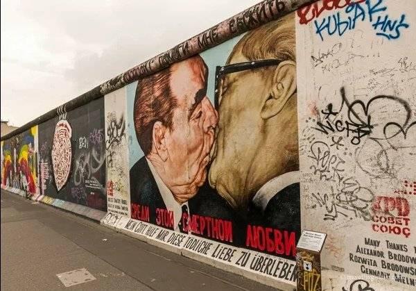Как возникла и пала берлинская стена – история и малоизвестные факты