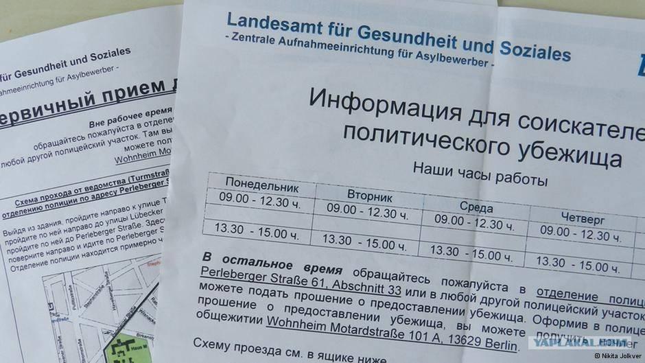 Политическое убежище в германии в 2021 году: как получить, документы, отказ