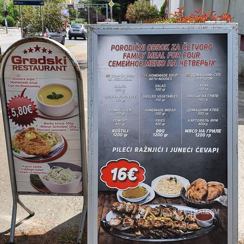 Вкус черногории: что попробовать и цены на еду
