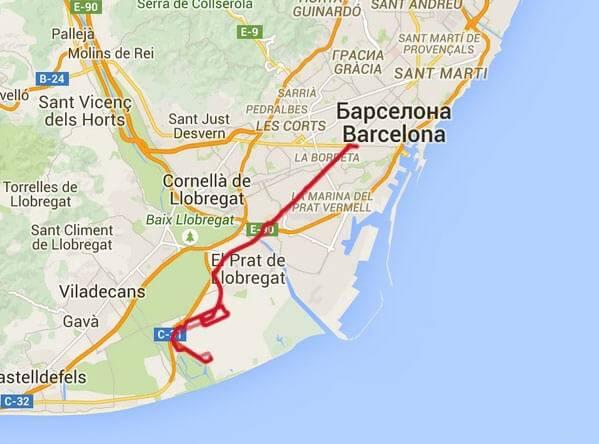 Как добраться из аэропорта и города жирона в барселону: расстояние, стоимость, варианты.