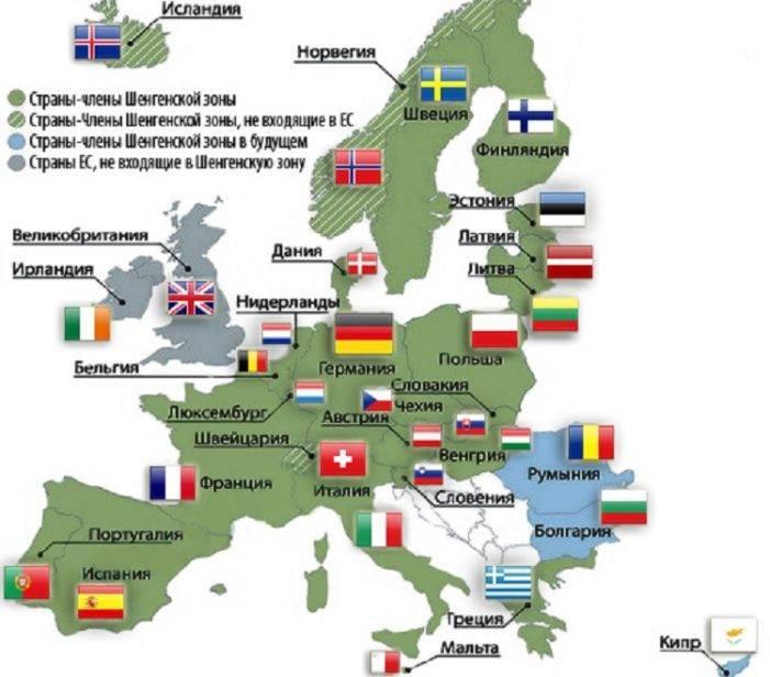 Страны шенгена: подробный список. что такое шенгенская виза?