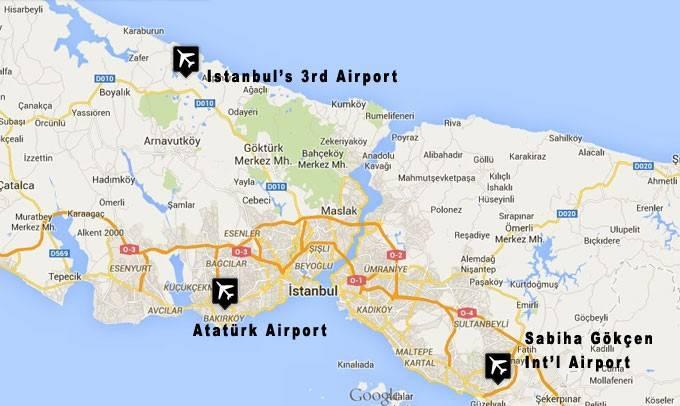 Новый аэропорт стамбула (istanbul new airport (iga), istanbul yeni havalimanı)
