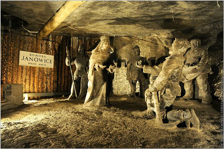 Величка - соляная шахта в окрестностях краков
