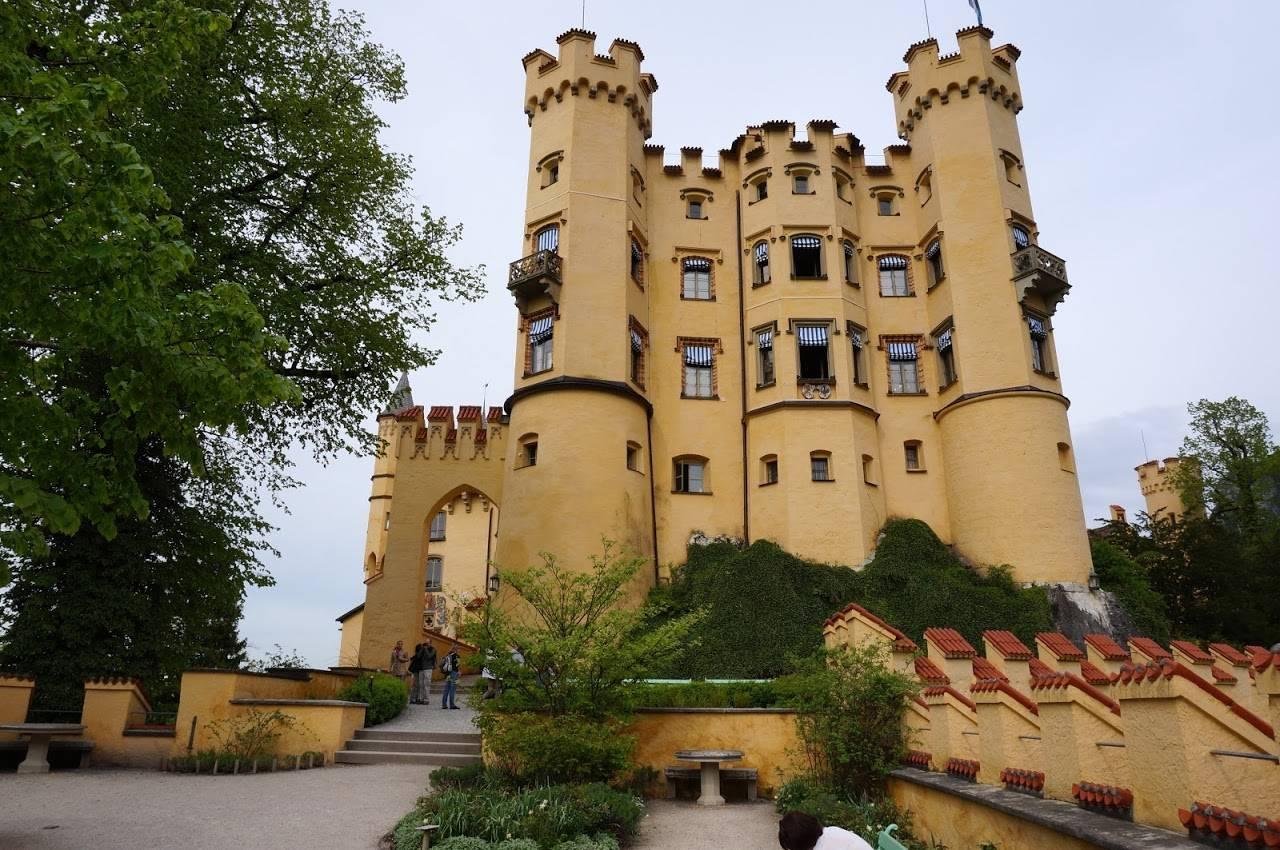 Замок Хоэншвангау – дом для сказочного короля