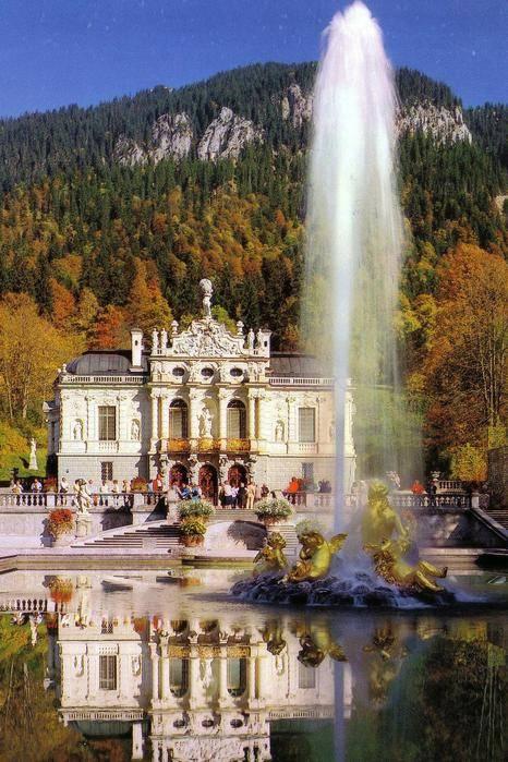 Замок линдерхоф (linderhof) описание и фото - германия: бавария