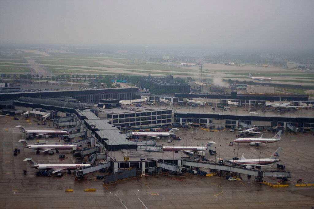 Сколько аэропортов в сша