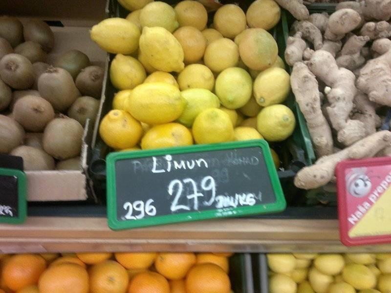 Какие цены в сербии на продукты