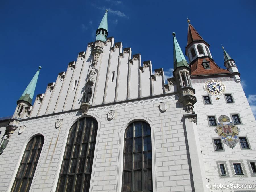 Новая ратуша в мюнхене - оживающая сказка