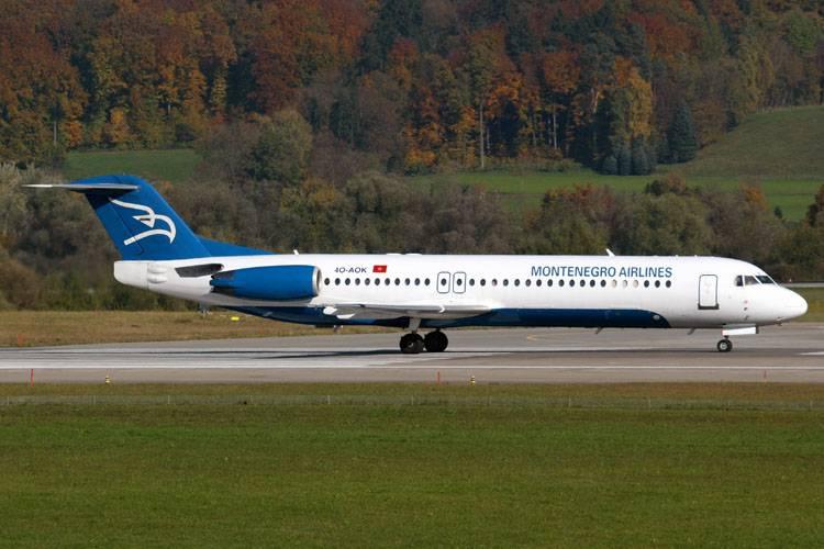 Montenegro airlines | франкфурт