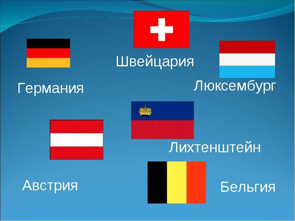 Языки австрии