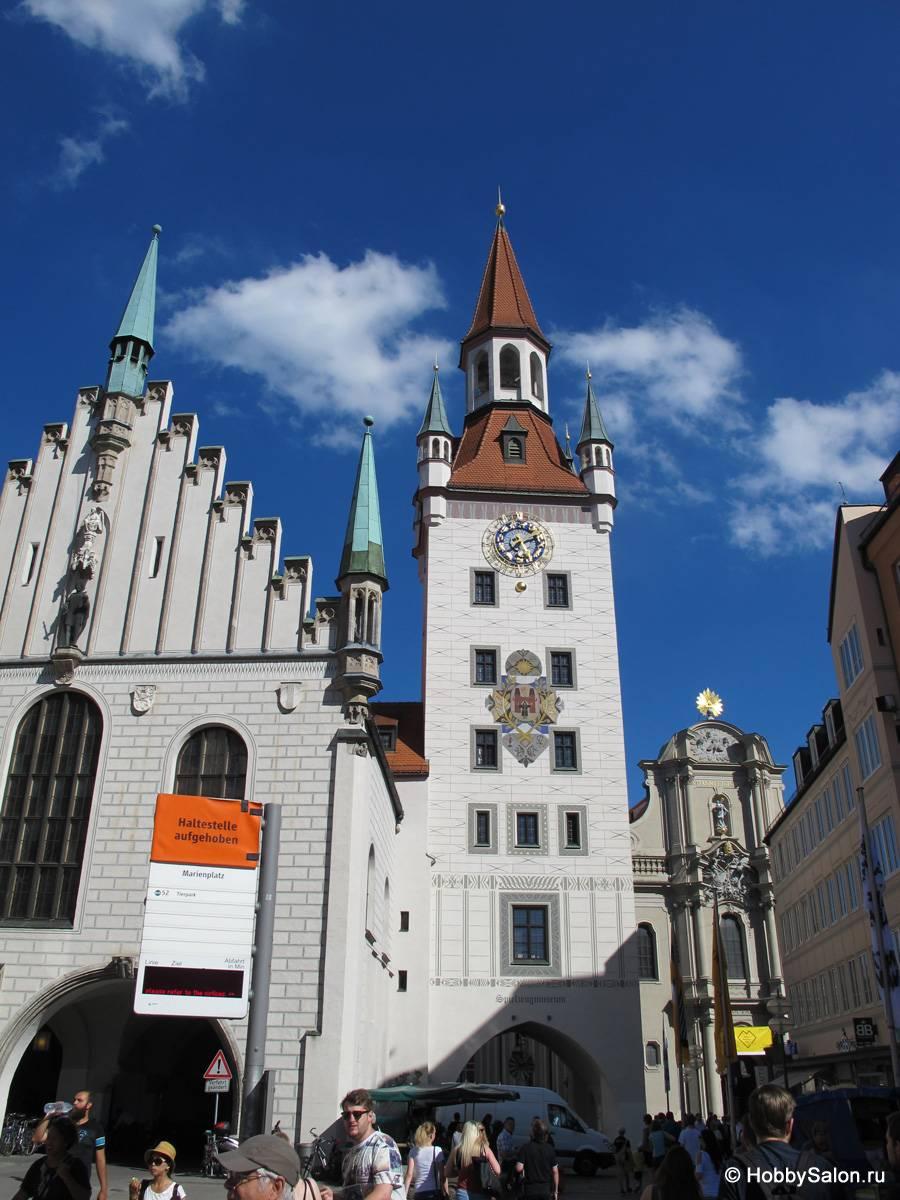 Немецкий город мюнхен | мировой туризм