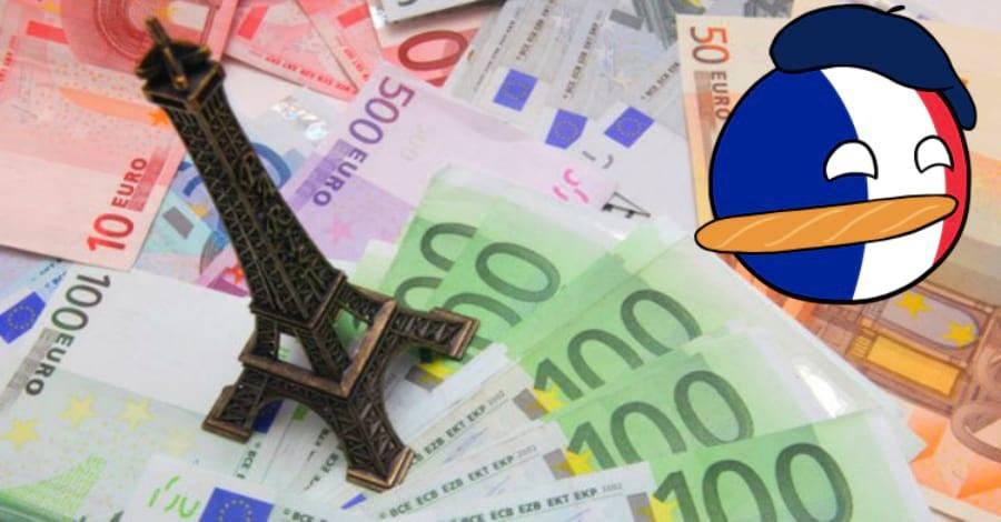 Средняя зарплата во франции в 2019 году