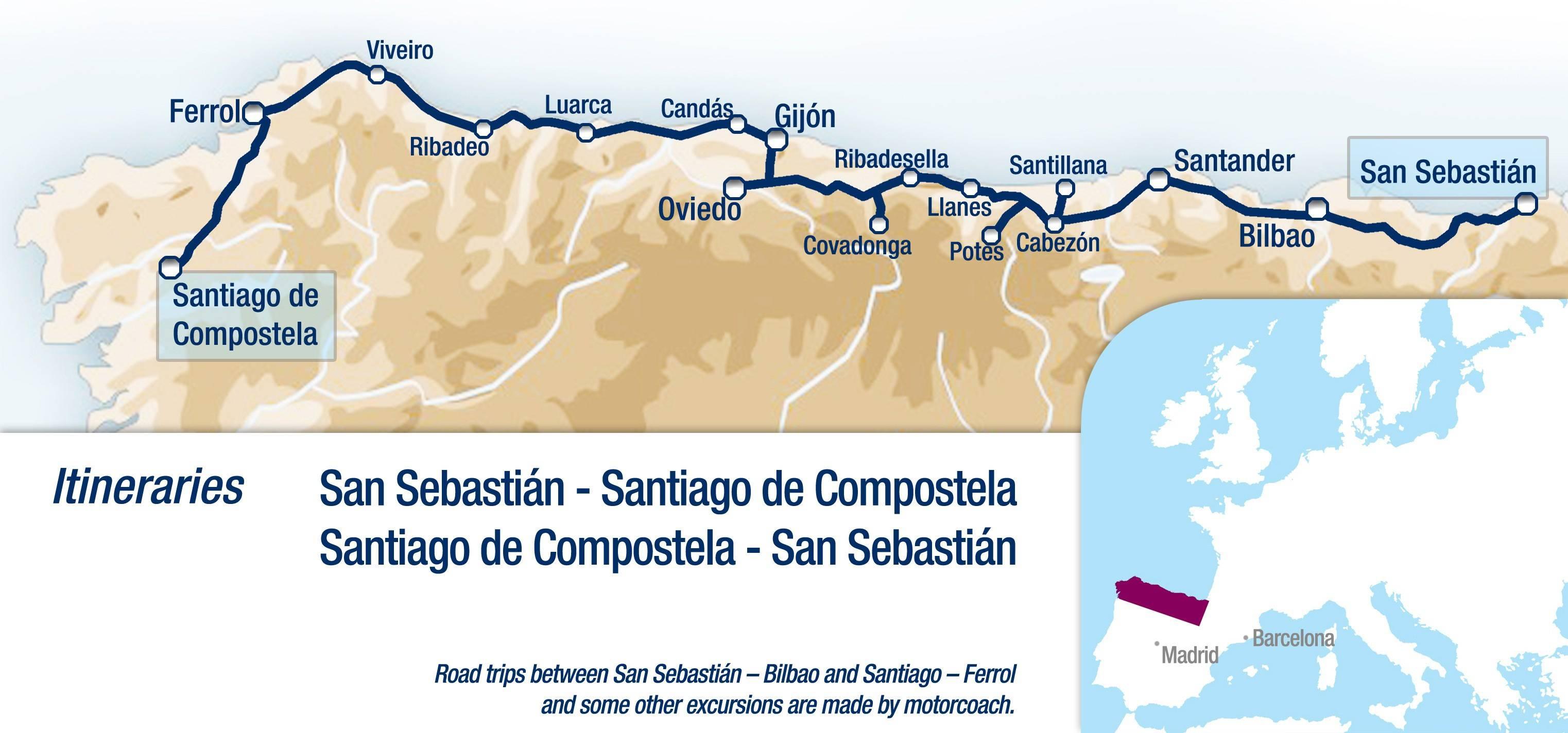Маршрут  из барселоны в бильбао  (март 2021)  расстояние 611 км как сократить машрут, быстрые маршрут на машине, отзывы о качестве дороги