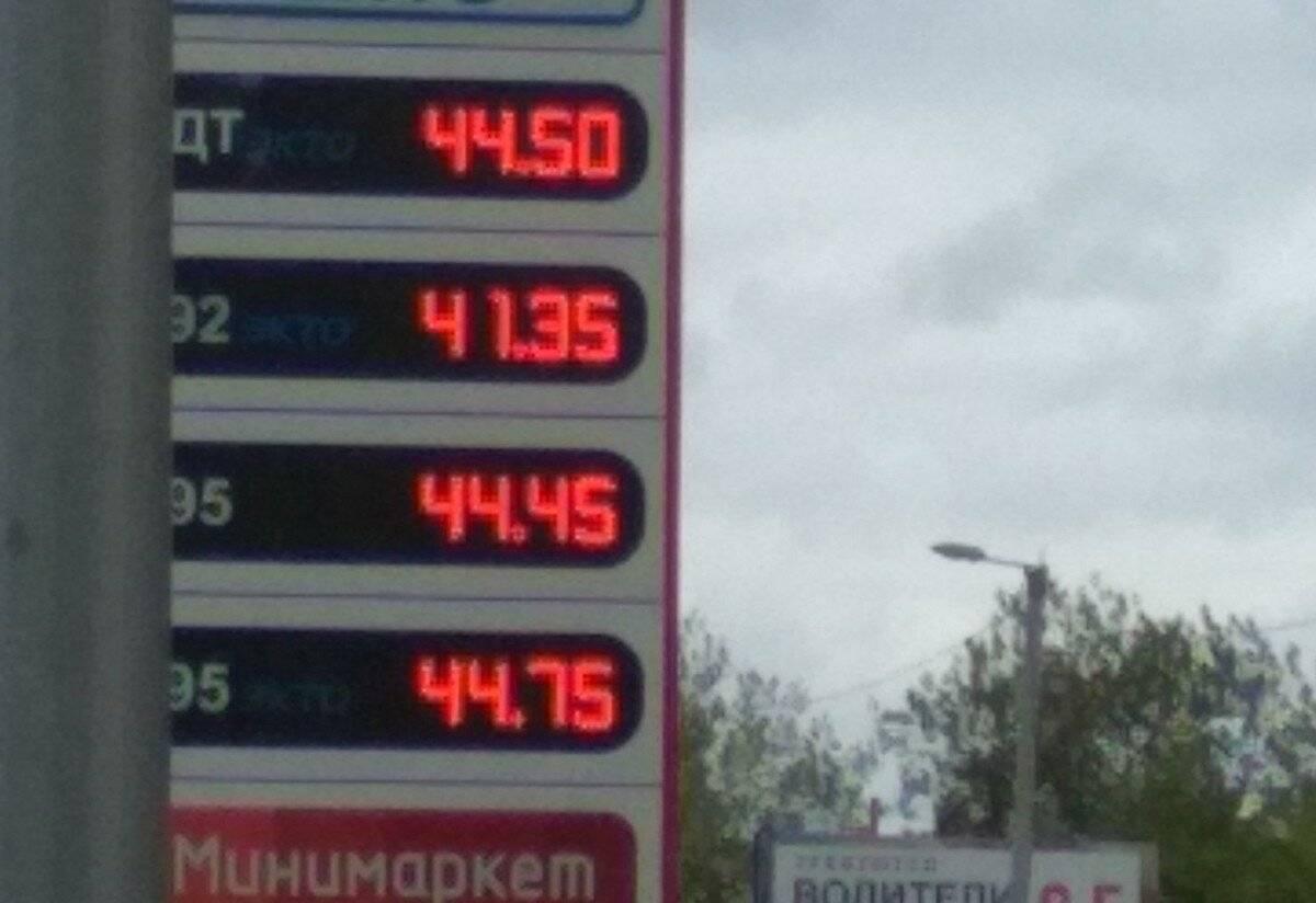 Стоимость бензина в сша: сравнение цен