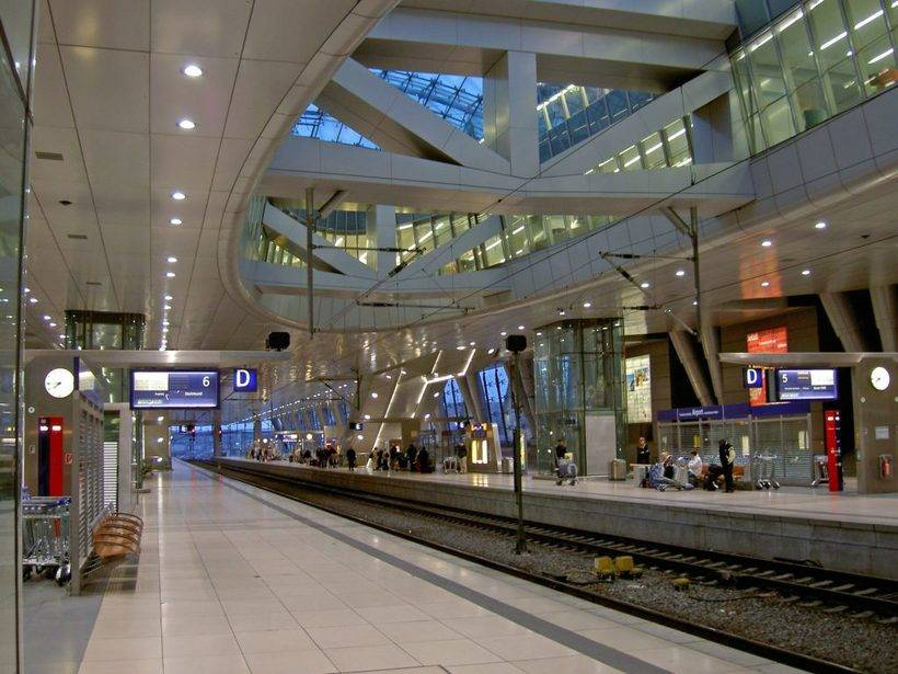Схема аэропорта франкфурта — фото, транзит, терминалы