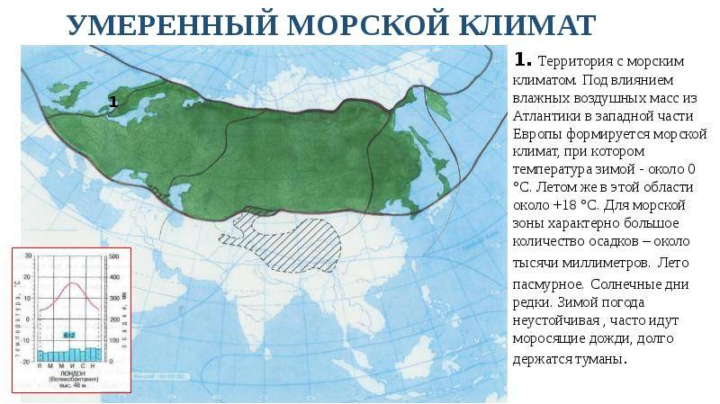 Умеренно континентальный климат. характеристики и особенности на geographyweb.ru