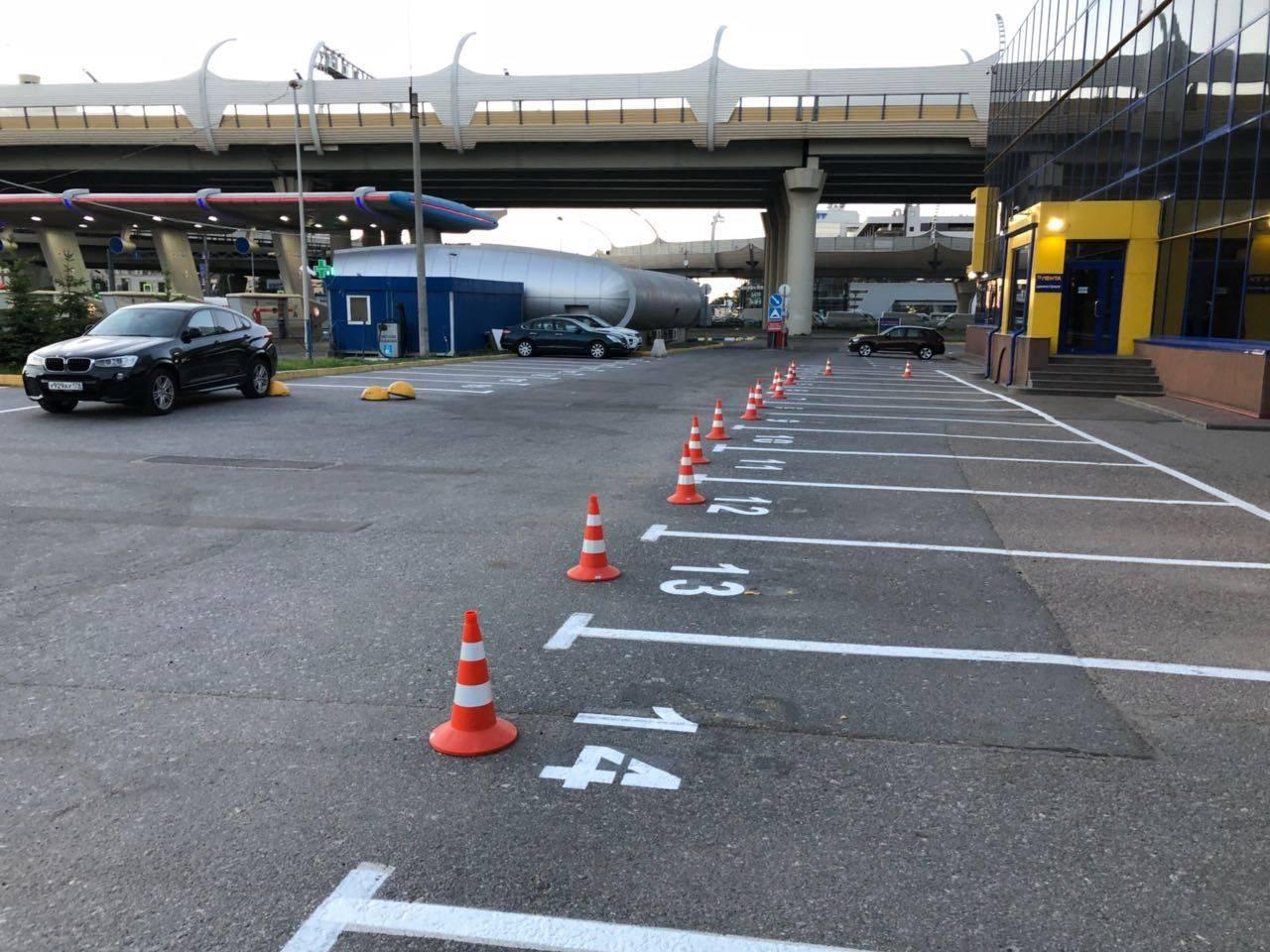 Знаки парковки с табличками