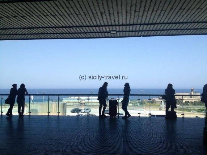 Аэропорты сицилии: названия, расположение и общая информация
